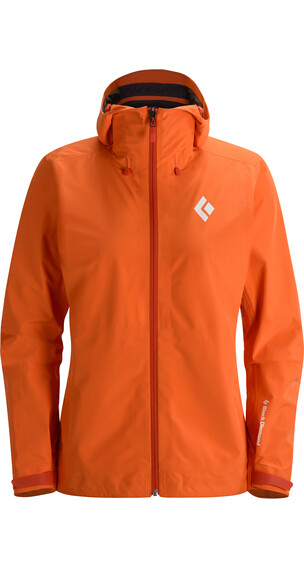 Black Diamond W's Liquid Point Shell Jacket Dawn